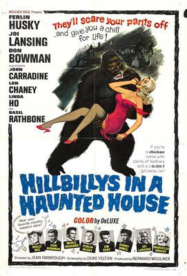 Hillbillys In A Haunted House Movie Poster 24x36 - Fame Collectibles