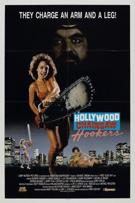 Hollywood Chainsaw Hookers Movie Poster 24x36 - Fame Collectibles