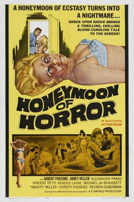 Honeymoon Of Horror Movie Poster 24x36 - Fame Collectibles