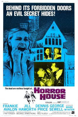 Horror House Movie Poster 24x36 - Fame Collectibles