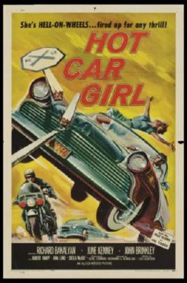 Hot Car Girl Movie Poster 24in x 36in - Fame Collectibles