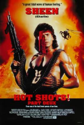 Hot Shots Part Deux Poster 24inx36in - Fame Collectibles