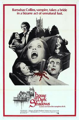 House Of Dark Shadows Movie Poster 24x36 - Fame Collectibles