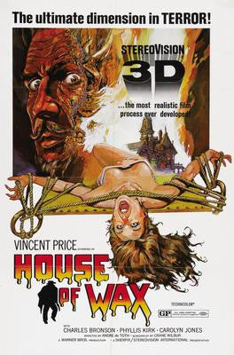 House Of Wax Movie Poster 24x36 - Fame Collectibles