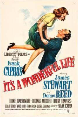 It'S A Wonderful Life Movie Poster Puzzle Fun-Size 120 pcs - Fame Collectibles