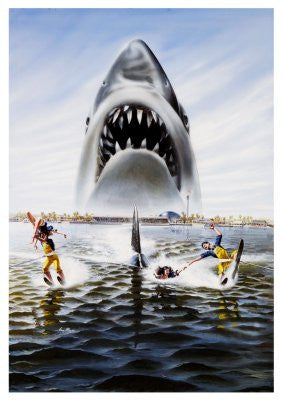 Jaws 3D Movie Poster Puzzle Jigsaw Puzzle - Fame Collectibles