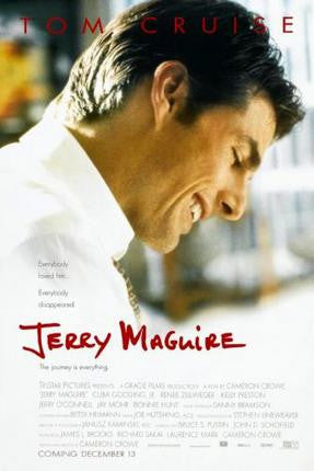 Jerry Mcguire Movie Poster Puzzle Fun-Size 120 pcs - Fame Collectibles