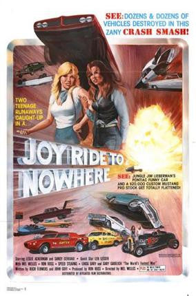 Joyride To Nowhere Movie Poster Puzzle Fun-Size 120 pcs - Fame Collectibles