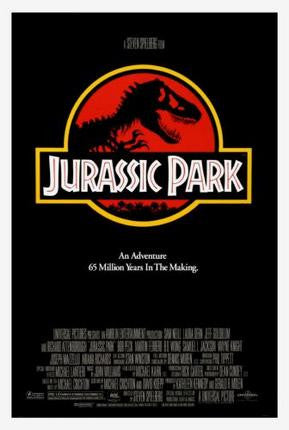Jurassic Park Movie Poster Puzzle Jigsaw Puzzle - Fame Collectibles