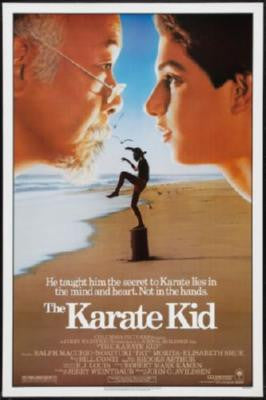 Karate Kid Movie Poster Puzzle Fun-Size 120 pcs - Fame Collectibles