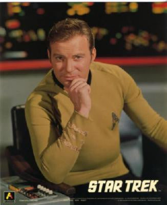Star Trek Shatner Kirk Puzzle Fun-Size 120 pcs - Fame Collectibles