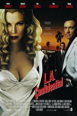 La Confidential Movie Poster Puzzle Fun-Size 120 pcs - Fame Collectibles