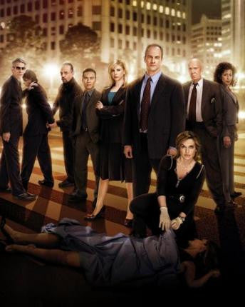 Law And Order Svu TV Puzzle Fun-Size 120 pcs - Fame Collectibles