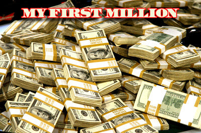 My First Million Stacks Of Cash 8x10 photo - Fame Collectibles