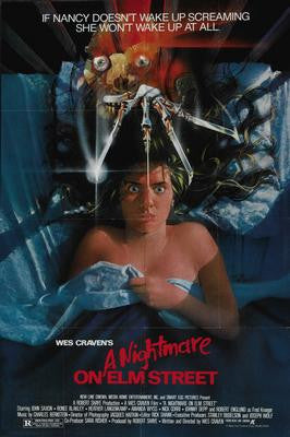 Nightmare On Elm Street Movie Poster 24x36 - Fame Collectibles