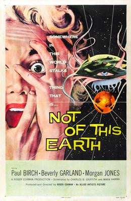 Not Of This Earth Mouse Pad Mousepad Mouse mat - Fame Collectibles