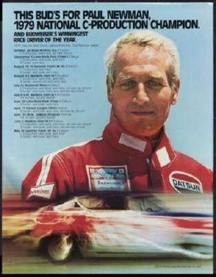 Paul Newman Poster Race Driver 24inx36in - Fame Collectibles