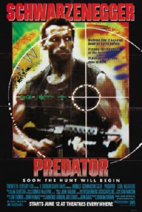 Predator Movie Poster 24in x 36in - Fame Collectibles