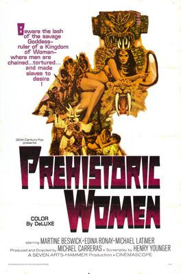 Prehistoric Women Movie Poster 24x36 - Fame Collectibles