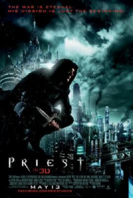 Priest Poster 24inx36in - Fame Collectibles