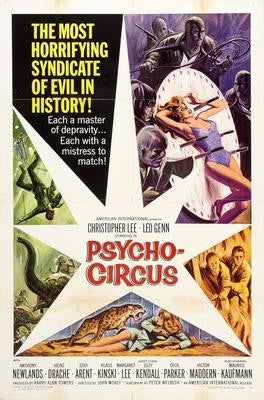 Psychocircus Movie Poster 24x36 - Fame Collectibles