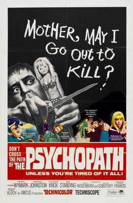 Psychopath The Movie Poster 24x36 - Fame Collectibles