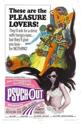 Psychout Movie Poster 24x36 - Fame Collectibles
