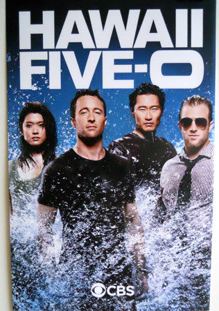 Hawaii Five-0 Five 0 Poster Cast Photo Promo 2ft x3ft 24x36 - Fame Collectibles