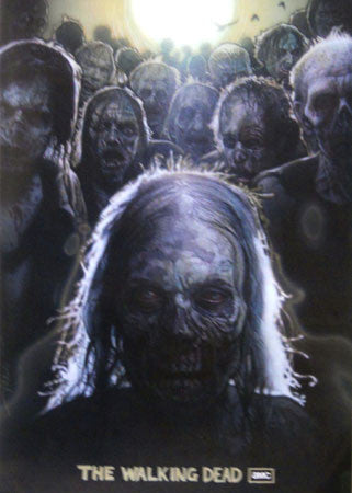The Walking Dead Zombies 2'X3' Poster 24x36 - Fame Collectibles