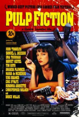 Pulp Fiction Movie 8x10 photo - Fame Collectibles