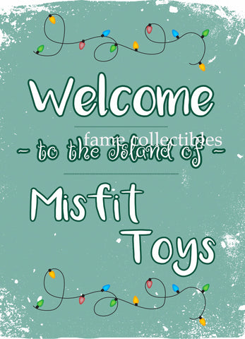 The Island of Misfit Toys 8x10 photo - Fame Collectibles