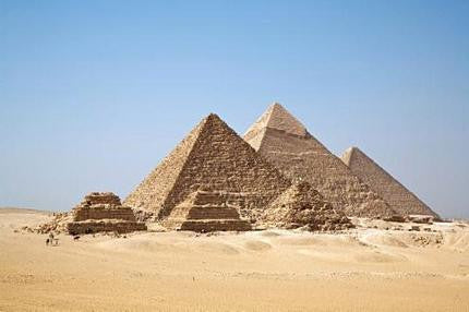 Pyramids Poster Egypt 24x36 - Fame Collectibles