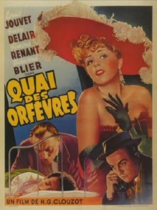 Quai Des Orfevres Movie Poster 24in x 36in - Fame Collectibles