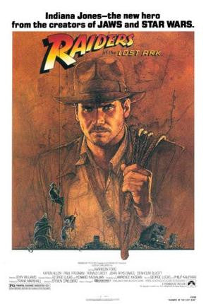 Raiders Of The Lost Ark Movie Poster 24x36 - Fame Collectibles