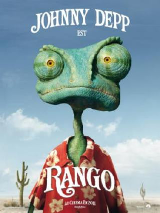 Rango Movie Poster 24in x 36in - Fame Collectibles
