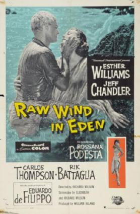 Raw Wind In Eden Movie Poster 24in x 36in - Fame Collectibles