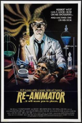 Reanimator Movie Poster 24in x 36in - Fame Collectibles