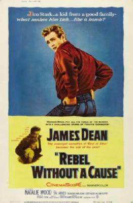 Rebel Without A Cause Movie Poster 24in x 36in - Fame Collectibles