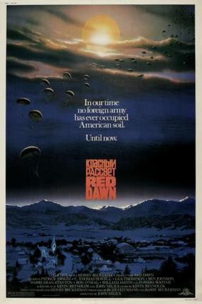 Red Dawn Movie Poster 24x36 - Fame Collectibles