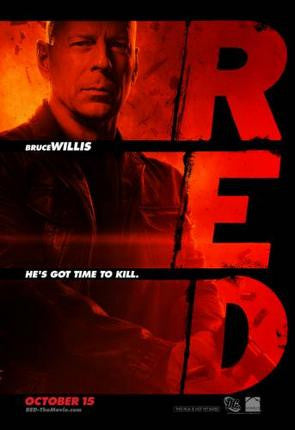 Red Movie Poster 24x36 - Fame Collectibles