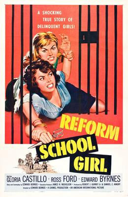 Reform School Girl Movie Poster 24x36 - Fame Collectibles