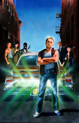 Repo Man Movie Poster 24x36 textless art 24x36 - Fame Collectibles
