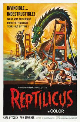 Reptilicus Movie Poster 24x36 - Fame Collectibles