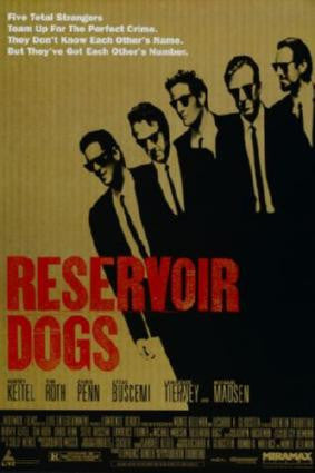 Reservoir Dogs Movie Poster 24in x 36in - Fame Collectibles
