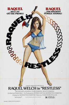 Restless Raquel Welch Movie Poster 24x36 - Fame Collectibles