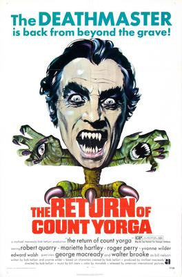 Return Of Count Yorga The Movie Poster 24x36 - Fame Collectibles
