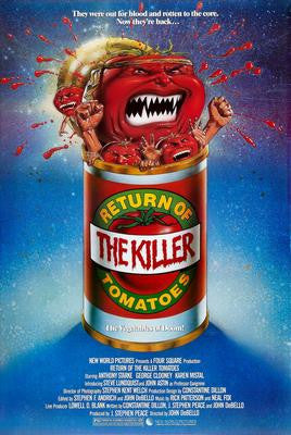 Return Of The Killer Tomatoes Movie Poster 24x36 - Fame Collectibles