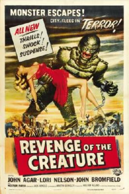 Revenge Of The Creature Poster 24inx36in - Fame Collectibles