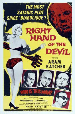 Right Hand Of The Devil Movie Poster 24x36 - Fame Collectibles