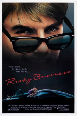 Risky Business Movie Poster 24x36 - Fame Collectibles